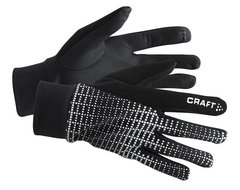 Беговые перчатки Craft Brilliant 2.0 черные