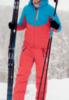 Nordski Montana Premium RUS утепленный лыжный костюм женский Red - 2