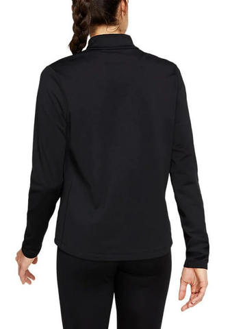 Asics Katakana Winter 1/2 Zip рубашка беговая женская черная