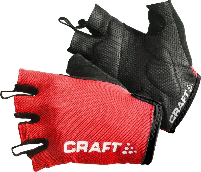 Велоперчатки Craft Active красно-черные