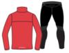 Nordski Motion Premium костюм для бега мужской Red - 2