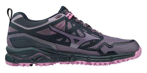 Mizuno Wave Daichi 4 GoreTex беговые кроссовки женские черные-фиолетовые
