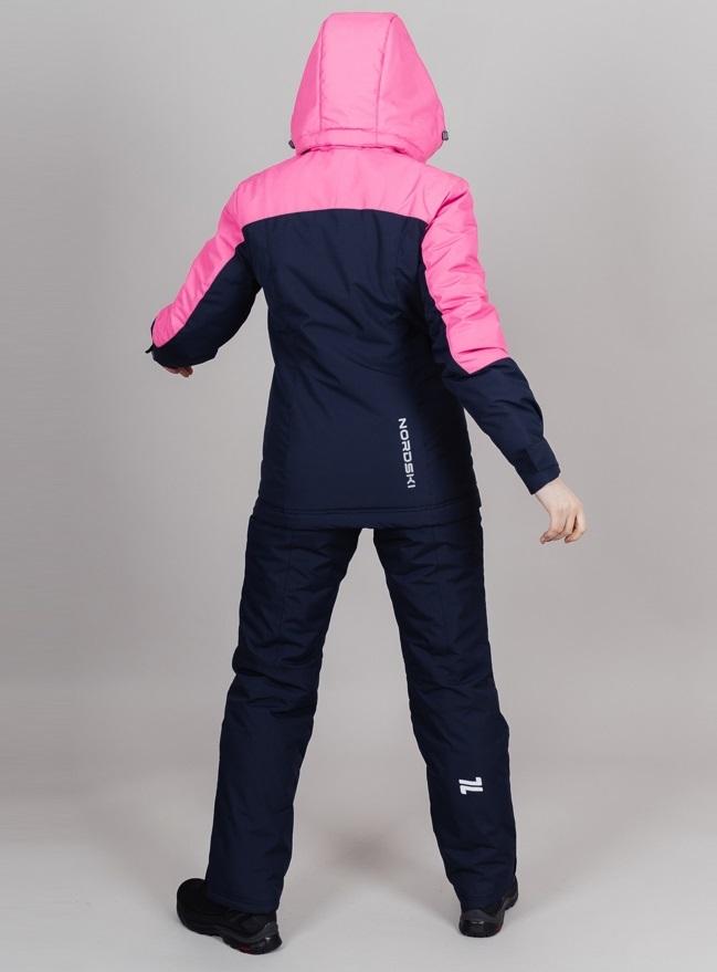 Nordski Mount лыжная утепленная куртка женская dark blue - 2