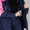 Nordski Mount лыжная утепленная куртка женская dark blue - 4