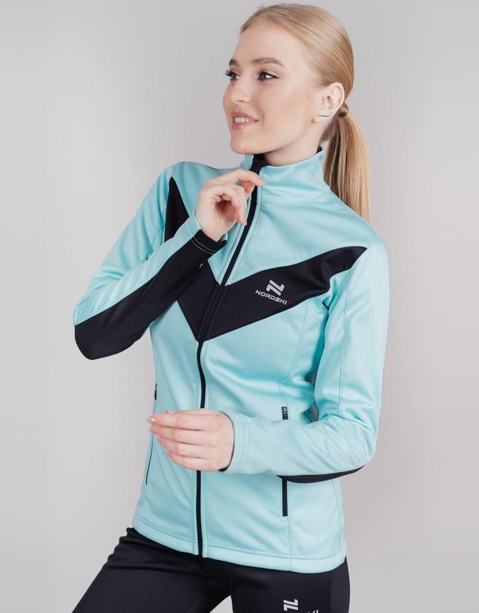 Nordski Base беговой костюм женский mint - 3