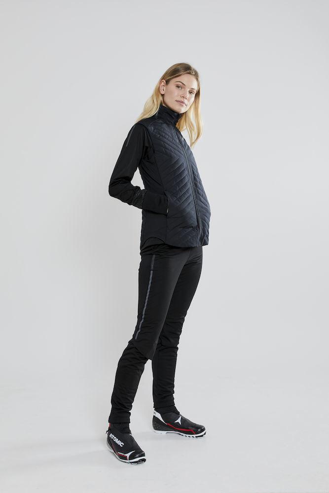 Craft Storm Balance лыжные штаны женские черные - 6