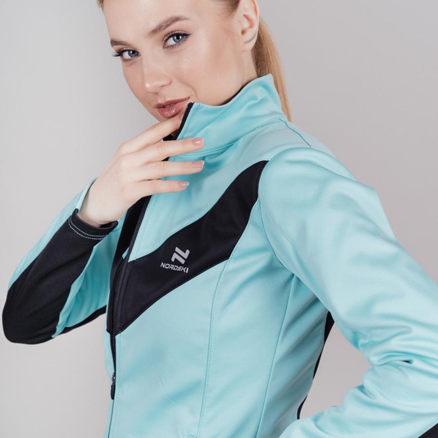 Nordski Base беговой костюм женский mint - 4