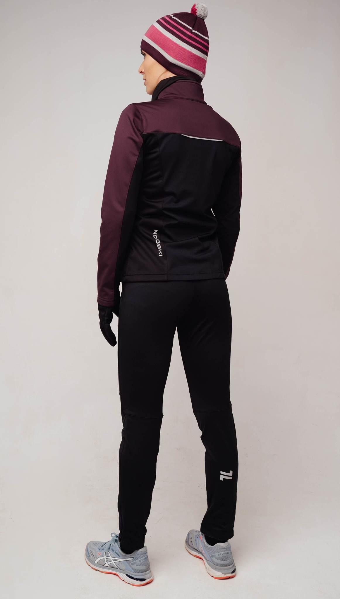 Nordski Active Base женский беговой костюм purple - 2
