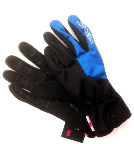 Nordski Racing WS перчатки гоночные черные-синие