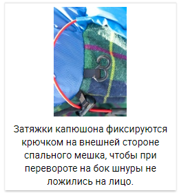 Alexika Tundra Plus спальный мешок кемпинговый - 16