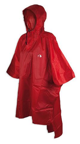 Tatonka Poncho 1 XS-S плащ-накидка красный