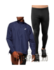 Asics Silver костюм для бега мужской синий-черный - 1