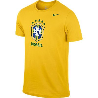 Футболка Nike CBF Core Crest Tee жёлтая