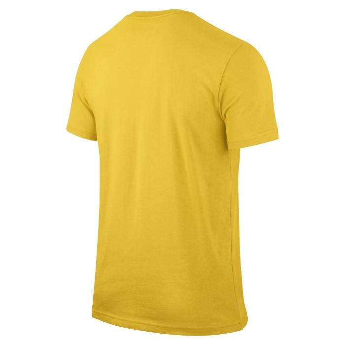 Футболка Nike CBF Core Crest Tee жёлтая - 2