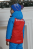 Nordski Kids National утепленная лыжная куртка детская red - 2