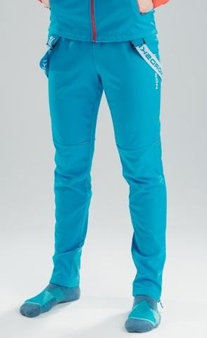 Nordski Premium 2020 разминочные лыжные брюки мужские синие