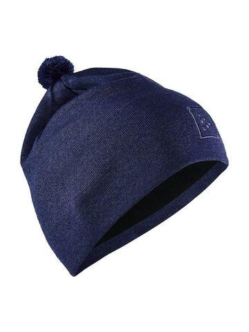 Craft Practice шапка с помпоном blue