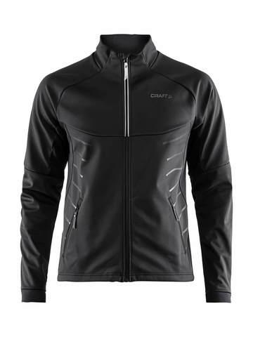 Craft Warm куртка разминочная мужская черная