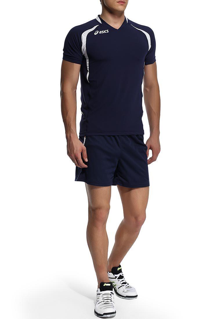 Волейбольная форма Asics Set Tiger Man темно-синяя