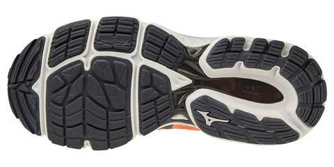 Mizuno Wave Inspire 16 беговые кроссовки женские оранжевые-серые