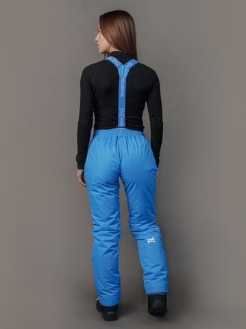 Nordski Premium теплые лыжные брюки женские синие