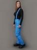 Nordski Premium теплые лыжные брюки женские синие - 3