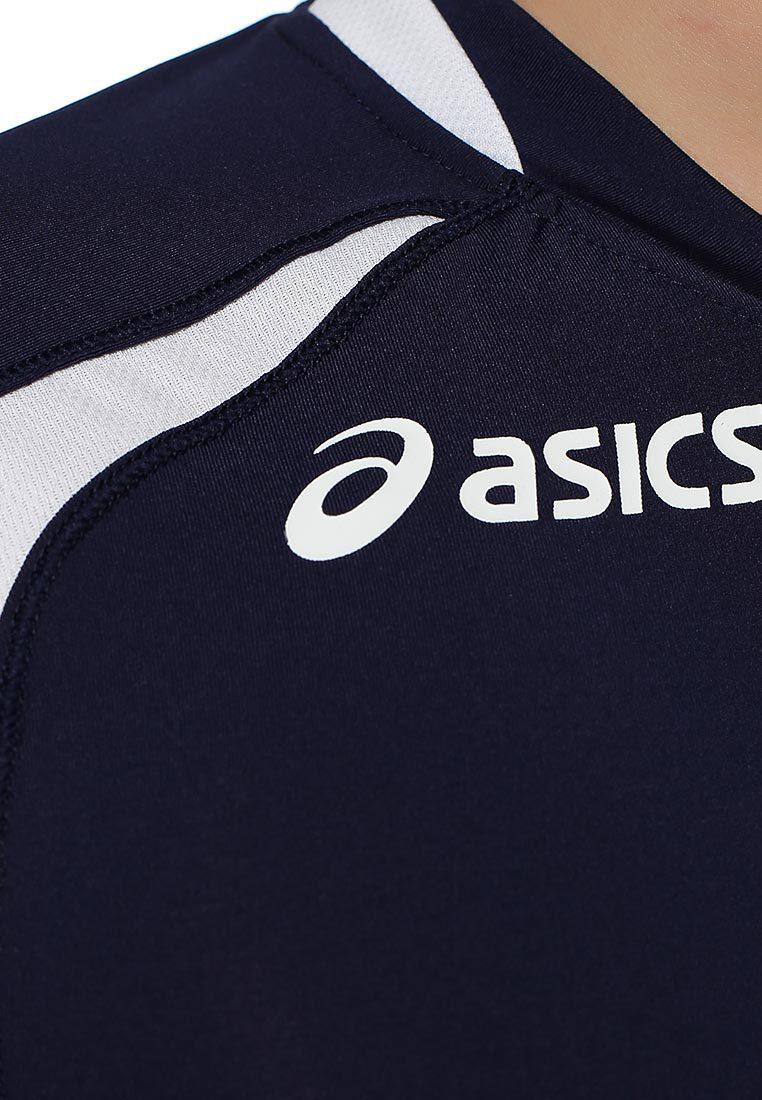 Волейбольная форма Asics Set Tiger Man темно-синяя - 3