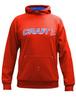 Толстовка Craft Flex Hood женская красная - 1