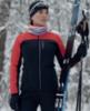 Nordski Active лыжная куртка женская красная-черная - 2