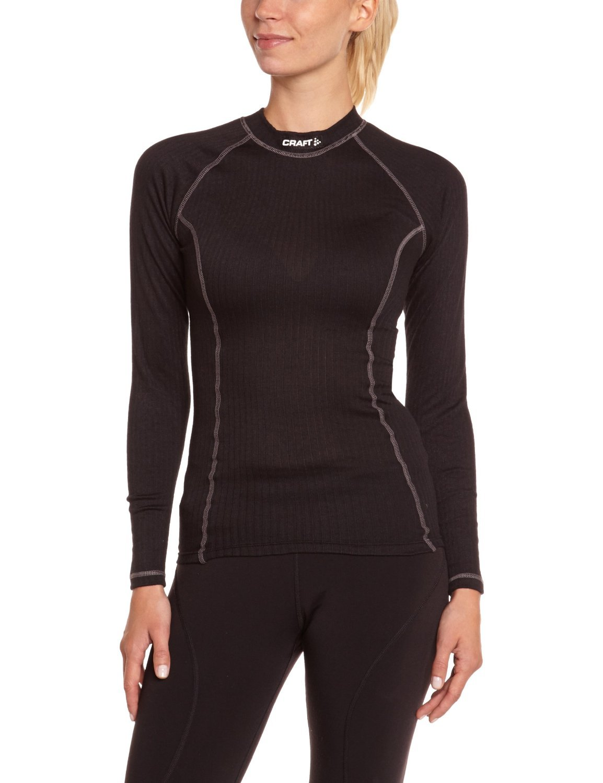 Термобелье Рубашка Craft Active женская black - 2