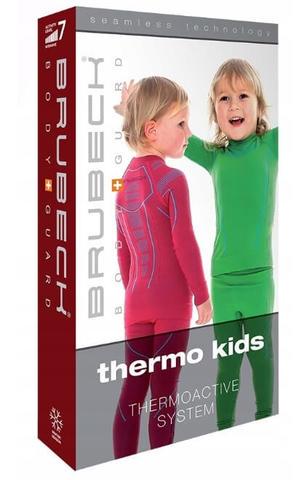 Brubeck Thermo детская терморубашка light blue