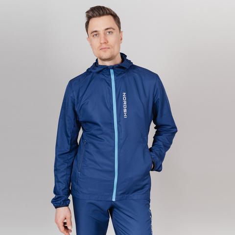 Nordski Run Premium костюм для бега мужской navy-blue