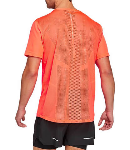 Asics Future Tokyo Ventilate Ss Top беговая футболка мужская оранжевая