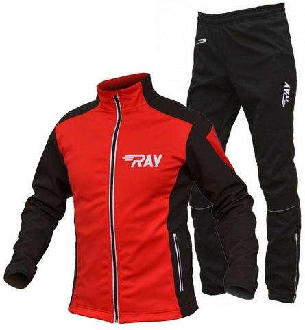 RAY Pro Race мужской лыжный костюм red