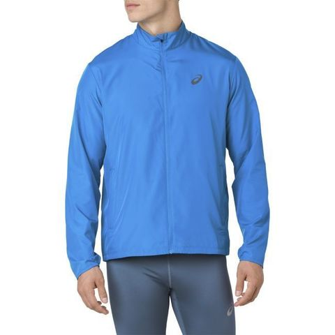 Asics Silver костюм для бега мужской синий