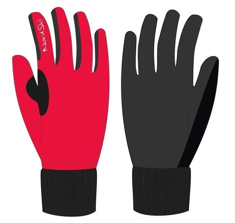 Nordski Warm WS лыжные перчатки красные