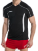 Волейбольная футболка Asics T-shirt Volo мужская black - 2