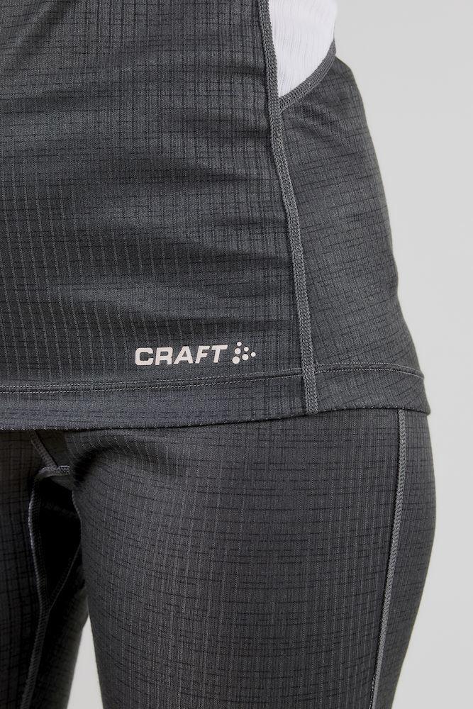 Craft BaseLayer женский комплект термобелья grey - 8