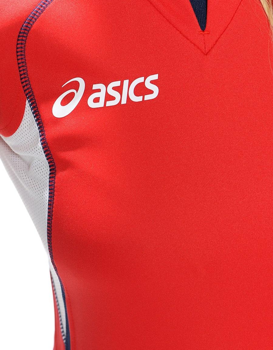 Asics Set Olympic Lady форма волейбольная женская red - 4
