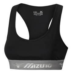 Mizuno Alpha Bra топ для бега женский черный-серый
