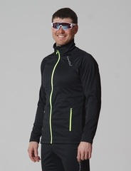 Nordski Elite мужская разминочная куртка black