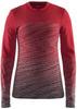 Craft Wool Comfort 2.0 женское термобелье рубашка красная - 1