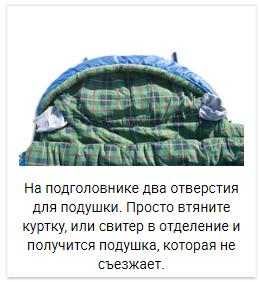 Alexika Tundra Plus спальный мешок кемпинговый - 20