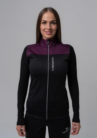 Nordski Active лыжный жилет женский purple-black