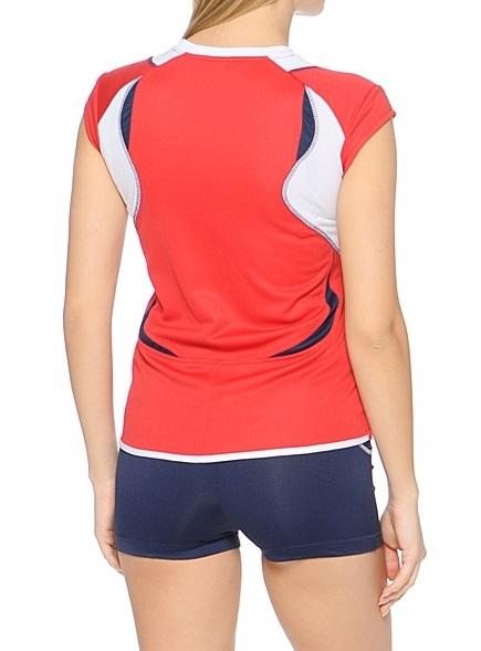 Asics Set Olympic Lady форма волейбольная женская red - 3