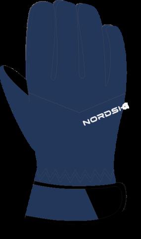 Nordski Jr Arctic Membrane перчатки детские dark navy