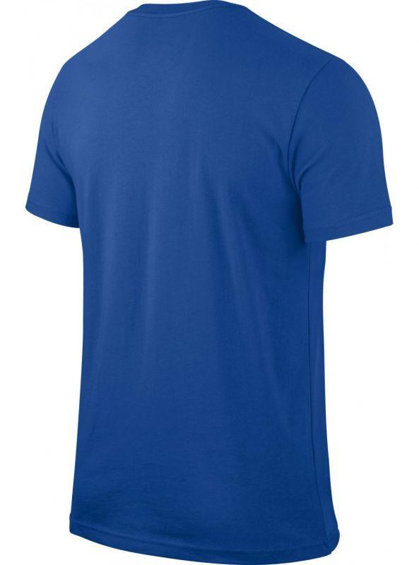 Футболка Nike CBF Core Crest Tee синяя - 2