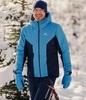 Лыжная прогулочная куртка мужская Nordski Base light blue-black iris - 1