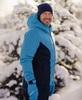 Лыжная прогулочная куртка мужская Nordski Base light blue-black iris - 2