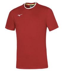 Mizuno Tee мужская беговая футболка красная